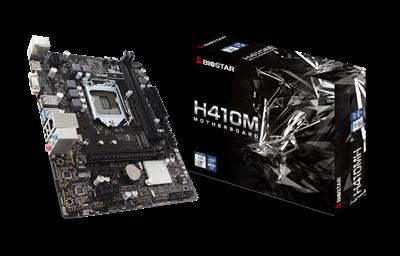 Matična ploča BIOSTAR H410MH, Intel H410, DDR4, mATX, s. 1200 - 10Gen procesora