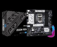 Matična ploča ASROCK B560M Pro4, Intel B560, DDR4, mATX, s. 1200 - 10/11Gen procesora