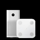 Pročišćivač zraka XIAOMI MI Air Purifier 3H, bijeli + XIAOMI Mi Body Composition Scale 2