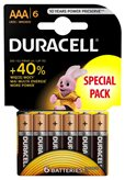 Baterija DURACELL Base Alkaline AAA  LR03/MN2400, 6 komada
