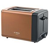 Toster BOSCH TAT4P429 DesignLine, 970W za dva tosta, bakreni