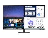 "Monitor 43"" SAMSUNG M7 Smart LS43AM700UUXEN, 4K UHD, 8ms, 300cd/m2, 5000:1, WiFi, crni"
