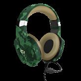Slušalice TRUST GXT 323C CARUS, zelene-camo