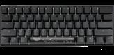 Tipkovnica DUCKY Mecha Mini, RGB, MX Silent Red, mehanička, US Layout, crna, USB