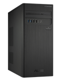 Računalo ASUS ExpertCenter D3 Tower D300TA / Core i3 10100, DVDRW, 8GB, 1000GB SATA + 256GB SSD, HD Graphics, noOS, crno