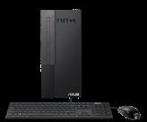 Računalo ASUS ExpertCenter X5 Mini Tower X500MA / Ryzen 5 4600G, DVDRW, 8GB, 1000GB SATA + 256GB SSD, Radeon Graphics, Windows 10 Pro, tipkovnica, miš, crno