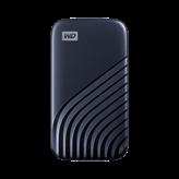 SSD vanjski 500 GB WESTERN DIGITAL My Passport, WDBAGF5000ABL-WESN, USB 3.2 Type-C, plavi
