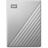 Tvrdi disk vanjski 1000 GB WESTERN DIGITAL My Passport Ultra, WDBC3C0010BSL-WESN, USB 3.1 Type-C, srebrni