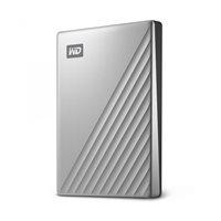 Tvrdi disk vanjski 2000 GB WESTERN DIGITAL My Passport Ultra, WDBC3C0020BSL-WESN, USB 3.1 Type-C, srebrni