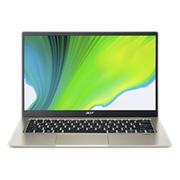 "Prijenosno računalo ACER Swift 1 NX.HYNEX.008 / Pentium N5030, 8GB, 256GB SSD, HD Graphics, 14"" IPS FHD, FreeDOS, zlatno"