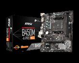 Matična ploča MSI B450M-A PRO MAX, AMD B450, mATX, s. AM4