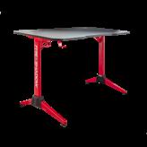 Gaming stol WHITE SHARK Fire Shadow, RGB, crno-crveni