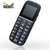 Mobitel MEANIT Veteran IV Plus, Dual SIM, crni + torbica
