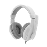 Slušalice WHITE SHARK GH-1641 Panther, žičane,  bijelo/srebrne