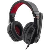 Slušalice WHITE SHARK GH-1641 Panther, žičane, crno/crvene