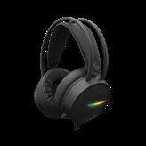 Slušalice WHITE SHARK GH-2042 Ocelot, LED, crne