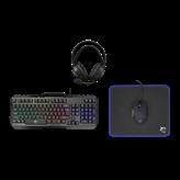 Tipkovnica + miš + podloga za miš + slušalice WHITE SHARK GC-4103 Cheyenne, USB