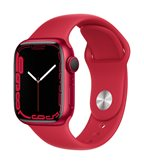 Pametni sat Apple Watch S7 GPS, 41mm (PRODUCT)RED Aluminium Case with (PRODUCT)RED Sport Band - Regular - preorder