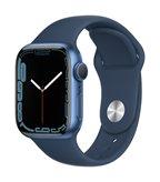 Pametni sat Apple Watch S7 GPS, 41mm Blue Aluminium Case with Abyss Blue Sport Band - Regular - preorder
