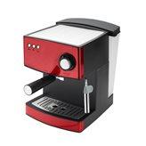 Aparat za kavu ADLER AD4404R, espresso 850W, crveni