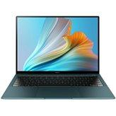 "Prijenosno računalo HUAWEI MateBook X Pro / Core i7 1165G7, 16GB, 1TB SSD, Intel Iris Xe Graphics, 14"" Touch 3K, Windows 10, zeleno"