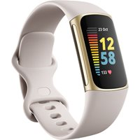Narukvica FITBIT Charge 5 Gold/Lunar White, HR, GPS, Fitbit pay