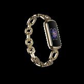 Narukvica FITBIT Luxe SE Soft Gold/Peony + Gorjana Juwellery, HR, GPS