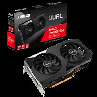Grafička kartica PCI-E ASUS Radeon RX6600 Dual, 8GB, GDDR6